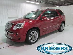 2012 GMC Acadia SUV for sale in Muscatine for $29,980 with 74,481 miles.