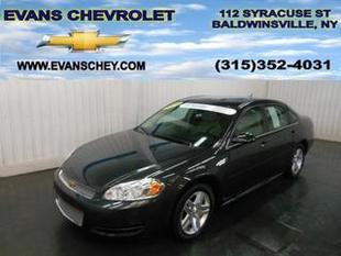 2014 Chevrolet Impala Limited Sedan for sale in Baldwinsville for $17,495 with 8,573 miles.