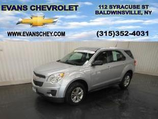 2012 Chevrolet Equinox SUV for sale in Baldwinsville for $16,995 with 49,393 miles.