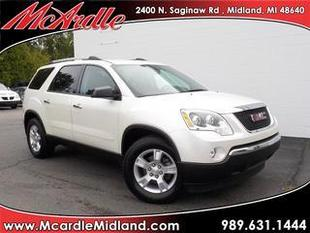 2012 GMC Acadia SUV for sale in Midland for $22,787 with 38,984 miles.