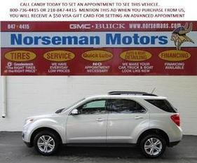 2013 Chevrolet Equinox SUV for sale in Detroit Lakes for $23,000 with 36,352 miles.