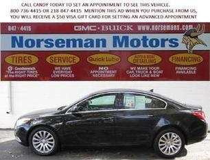 2011 Buick Regal Sedan for sale in Detroit Lakes for $16,000 with 39,462 miles.