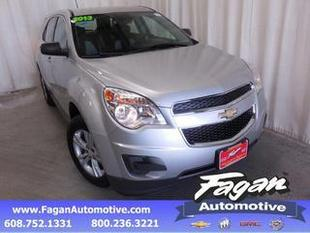 2013 Chevrolet Equinox SUV for sale in Janesville for $23,550 with 26,469 miles.