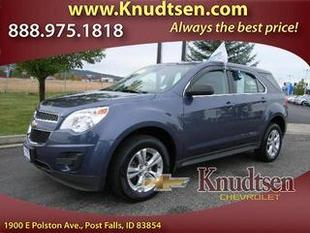2013 Chevrolet Equinox SUV for sale in Post Falls for $21,995 with 42,891 miles.