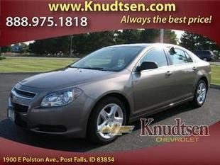 2012 Chevrolet Malibu Sedan for sale in Post Falls for $17,995 with 28,697 miles.