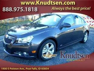 2014 Chevrolet Cruze Sedan for sale in Post Falls for $17,995 with 18,322 miles.