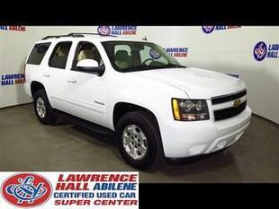 2012 Chevrolet Tahoe SUV for sale in Abilene for $32,995 with 27,925 miles.