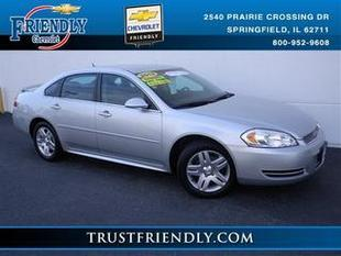2012 Chevrolet Impala Sedan for sale in Springfield for $15,990 with 29,888 miles.