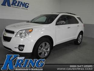 2013 Chevrolet Equinox SUV for sale in Petoskey for $26,980 with 30,675 miles.