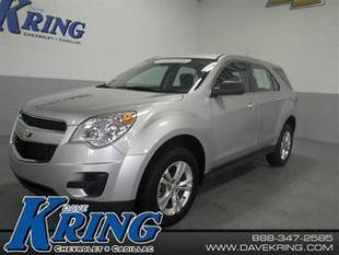 2012 Chevrolet Equinox SUV for sale in Petoskey for $19,449 with 33,890 miles.