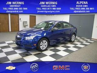 2012 Chevrolet Cruze Sedan for sale in Gaylord for $14,495 with 13,725 miles.