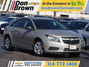 2013 Chevrolet Cruze Sedan for sale in Saint Louis for $14,995 with 23,792 miles.