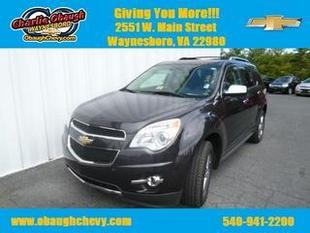 2014 Chevrolet Equinox SUV for sale in Waynesboro for $29,995 with 12,956 miles.