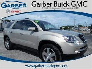 2011 GMC Acadia SUV for sale in Fort Pierce for $24,910 with 33,246 miles.