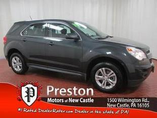 2013 Chevrolet Equinox SUV for sale in New Castle for $18,900 with 40,757 miles.