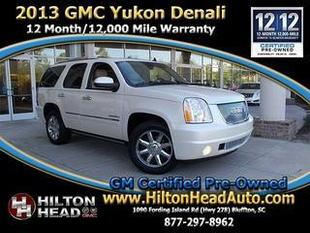 2013 GMC Yukon SUV for sale in Bluffton for $47,990 with 23,241 miles.