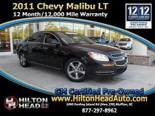 2011 Chevrolet Malibu Sedan for sale in Bluffton for $12,989 with 54,035 miles.