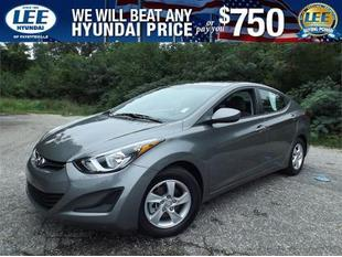 2014 Hyundai Elantra SE Sedan for sale in Fayetteville for $15,209 with 11,856 miles.