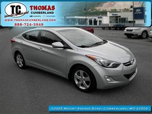 2012 Hyundai Elantra GLS Sedan for sale in Cumberland for $13,934 with 35,963 miles.