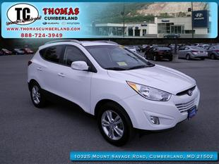 2013 Hyundai Tucson GLS SUV for sale in Cumberland for $19,992 with 32,795 miles.