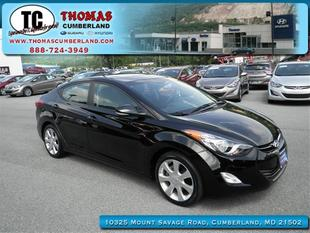 2012 Hyundai Elantra Limited Sedan for sale in Cumberland for $15,991 with 22,397 miles.