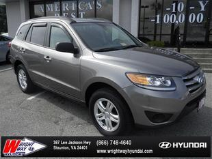 2012 Hyundai Santa Fe GLS SUV for sale in Staunton for $17,695 with 54,246 miles.