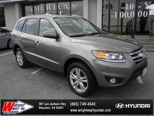 2012 Hyundai Santa Fe SE SUV for sale in Staunton for $18,995 with 49,360 miles.