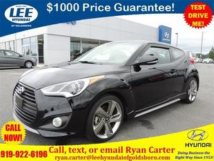 2013 Hyundai Veloster Turbo Hatchback for sale in Goldsboro for $18,900 with 19,182 miles.