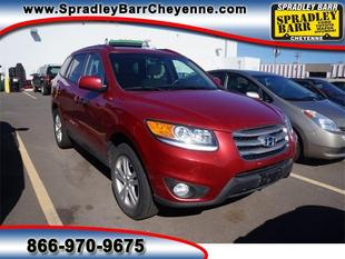 2012 Hyundai Santa Fe Limited SUV for sale in Cheyenne for $25,981 with 31,747 miles.