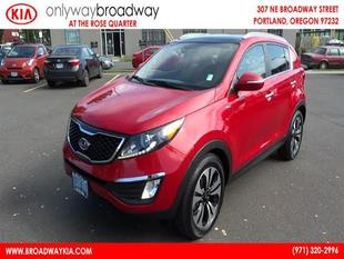 2011 Kia Sportage SX SUV for sale in Portland for $26,921 with 16,413 miles.