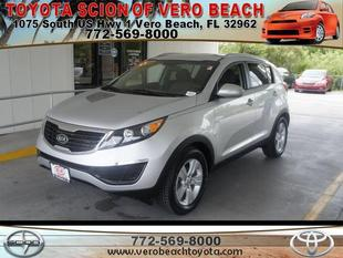2011 Kia Sportage SUV for sale in Vero Beach for $15,833 with 34,409 miles.