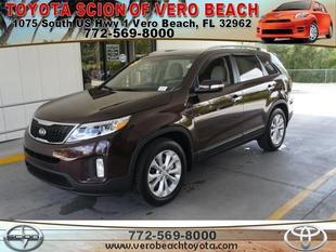 2015 Kia Sorento EX SUV for sale in Vero Beach for $29,741 with 110 miles.