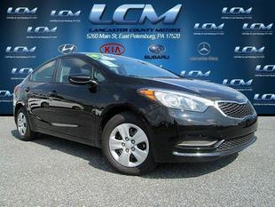 2014 Kia Forte LX Sedan for sale in East Petersburg for $16,988 with 4,701 miles.