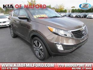 2012 Kia Sportage EX SUV for sale in Milford for $22,995 with 43,000 miles.