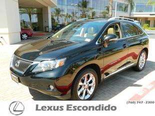 2011 Lexus RX 350 Base SUV for sale in Escondido for $34,999 with 54,173 miles.