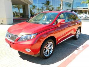 2012 Lexus RX 450h Base SUV for sale in Escondido for $44,999 with 45,649 miles.