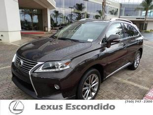 2013 Lexus RX 350 SUV for sale in Escondido for $42,999 with 25,653 miles.