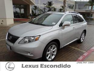 2010 Lexus RX 350 SUV for sale in Escondido for $34,999 with 34,578 miles.