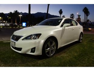 2012 Lexus IS 250 Base Sedan for sale in Cathedral City for $32,975 with 20,109 miles.