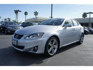 2013 Lexus IS 250 Base Sedan for sale in Cathedral City for $35,500 with 11,991 miles.