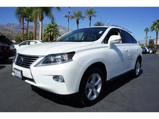 2013 Lexus RX 350 SUV for sale in Cathedral City for $43,000 with 21,198 miles.