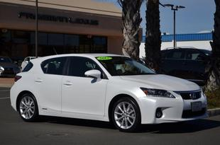 2012 Lexus CT 200h Hatchback for sale in Santa Rosa for $29,975 with 18,716 miles.