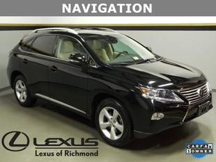 2013 Lexus RX 350 SUV for sale in Richmond for $39,999 with 26,776 miles.