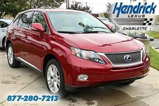 2011 Lexus RX 450h Base SUV for sale in Charlotte for $36,994 with 31,378 miles.