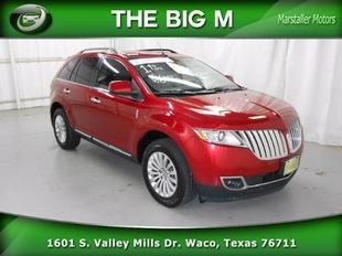 2011 Lincoln MKX Base SUV for sale in Waco for $28,987 with 31,135 miles.