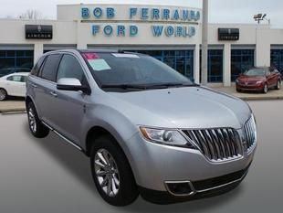 2012 Lincoln MKX Base SUV for sale in Girard for $33,999 with 17,966 miles.
