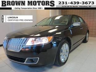 2012 Lincoln MKZ Base Sedan for sale in Petoskey for $23,495 with 30,259 miles.