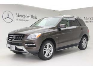 2012 Mercedes-Benz M-Class SUV for sale in Huntington for $42,991 with 26,002 miles.
