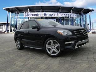 2012 Mercedes-Benz M-Class SUV for sale in East Petersburg for $52,900 with 29,824 miles.