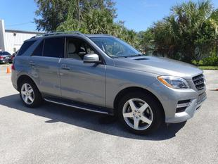 2014 Mercedes-Benz M-Class ML350 SUV for sale in Fort Pierce for $49,991 with 13,326 miles.